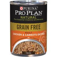 Purina Pro Plan Grain Free Chicken & Carrots Entree Adult Wet Dog Food from Blain's Farm and Fleet