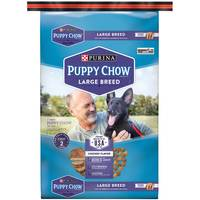 Purina 32 lb Puppy Chow Large Breed Dog Food from Blain's Farm and Fleet