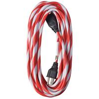 Woods Candy Cane Striped Extention Cord from Blain's Farm and Fleet