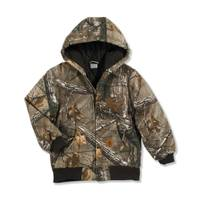 Carhartt Boys' Realtree Camouflage Active Jacket from Blain's Farm and Fleet