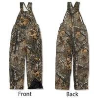 Carhartt Boys' Realtree  Camouflage Quilt Lined Bib Overalls from Blain's Farm and Fleet