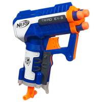 NERF N-Strike Elite Triad Ex-3 Blaster from Blain's Farm and Fleet