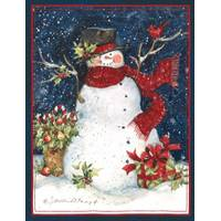 Lang Snowman Scarf Boxed Christmas Cards from Blain's Farm and Fleet