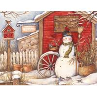 Lang Winter Barn Boxed Christmas Cards from Blain's Farm and Fleet