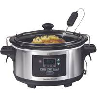 Hamilton Beach Set & Forget 6 Qt Programmable Slow Cooker from Blain's Farm and Fleet