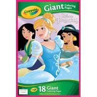 Crayola Disney Princess Giant Coloring Pages from Blain's Farm and Fleet