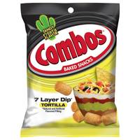 Combos 7 Layer Dip Cracker Snacks from Blain's Farm and Fleet