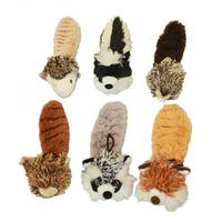 Multipet International Bouncy Burrow Buddies Dog Toys Assortment from Blain's Farm and Fleet