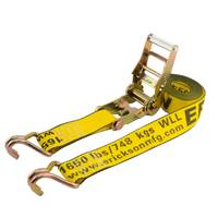 Erickson Manufacturing 15' Heavy Duty Ratchet Tie Down Strap from Blain's Farm and Fleet