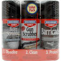 Birchwood Casey 1 - 2 - 3 Solvent Gun Cleaning Kit from Blain's Farm and Fleet