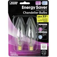 FEIT Electric 40 Watt Energy Saving Halogen Chandelier Light Bulb from Blain's Farm and Fleet