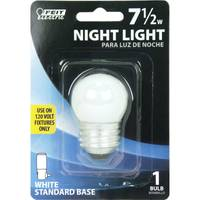 FEIT Electric 7.5 Watt Incandescent S11 Frost Night Light Bulb from Blain's Farm and Fleet