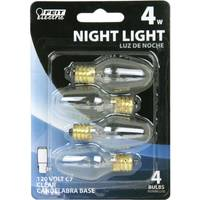 FEIT Electric 4 Watt Incandescent C7 Clear Night Light Bulb from Blain's Farm and Fleet