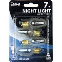 FEIT Electric 7 Watt Incandescent C7 Night Light Bulb from Blain's Farm and Fleet