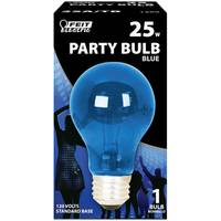 FEIT Electric 25 Watt Incandescent A19 Party Bulb, Blue from Blain's Farm and Fleet