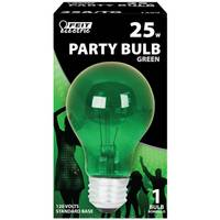 FEIT Electric Green 25W A19 Party Bulb from Blain's Farm and Fleet