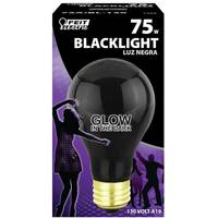 FEIT Electric 75 Watt Incandescent A19 Black Light, 130 Volt from Blain's Farm and Fleet