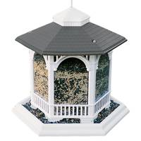 Audubon Deluxe Gazebo Plastic Bird Feeder from Blain's Farm and Fleet