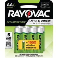 Rayovac Recharge NiMH AA Batteries 8-Pack from Blain's Farm and Fleet