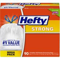 Hefty Mega Pack Cinch Sak Tall Kitchen Bags from Blain's Farm and Fleet