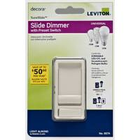 Leviton Decora SureSlide 3 Way Dimmer Switch from Blain's Farm and Fleet