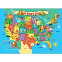 MasterPieces USA Map Jigsaw Puzzle from Blain's Farm and Fleet
