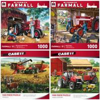 MasterPieces 1000-Piece Farmall Puzzle Assortment from Blain's Farm and Fleet