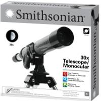 Smithsonian 30X Telescope with Monocular Kit from Blain's Farm and Fleet