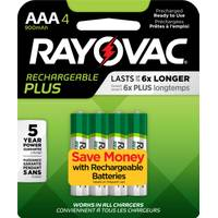 Rayovac Recharge Plus NiMH AAA Batteries 4-Pack from Blain's Farm and Fleet