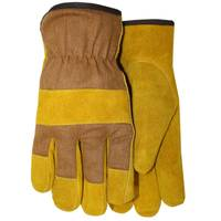 MidWest Gloves Fleece Foam Lined Leather Palm Gloves from Blain's Farm and Fleet