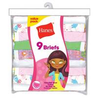 Hanes Girls' Brief Panties from Blain's Farm and Fleet