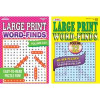 Kappa Universal Map Print Word-Find Puzzle Book Assortment from Blain's Farm and Fleet