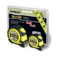 Komelon Evolution Self Lock Multi-Pack Tape Measures from Blain's Farm and Fleet