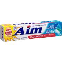 Aim Toothpaste from Blain's Farm and Fleet