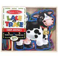 Melissa & Doug Lace & Trace Farm Animals Assortment from Blain's Farm and Fleet