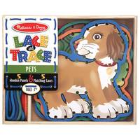 Melissa & Doug Lace & Trace Pets Assortment from Blain's Farm and Fleet