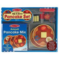 Melissa & Doug Wooden Flip & Serve Pancake Set from Blain's Farm and Fleet