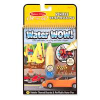 Melissa & Doug Water WOW! Vehicles Coloring Book & Pen from Blain's Farm and Fleet