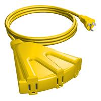 Stanley 8' 3 Outlet Outdoor Extension Cord from Blain's Farm and Fleet
