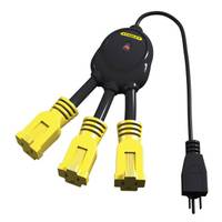 Stanley PowerSquid 3 Outlet Flexible Outlet Multiplier from Blain's Farm and Fleet