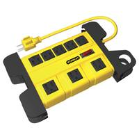 Stanley 8 Outlet Power Strip from Blain's Farm and Fleet