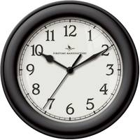 Firstime Manufactory Black Essential Wall Clock from Blain's Farm and Fleet