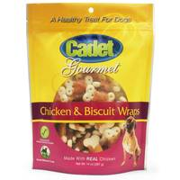 Cadet Chicken & Biscuit Wraps Dog Treats from Blain's Farm and Fleet