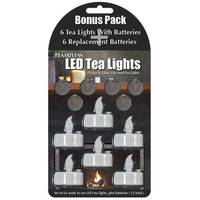 Mark Feldstein & Associates, Inc. Flameless LED Tea Lights from Blain's Farm and Fleet
