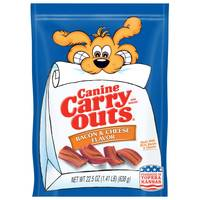 Canine Carry Outs Bacon & Cheese Dog Treats from Blain's Farm and Fleet
