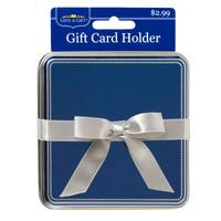 Give-A-Gift Blue Gift Card Tin from Blain's Farm and Fleet