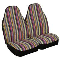 Allison Prairie Stripe Universal Bucket Seat Covers from Blain's Farm and Fleet