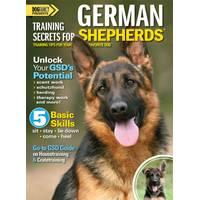 BowTie Press Training Secrets for German Shepherds from Blain's Farm and Fleet