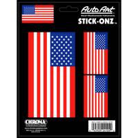 Chroma Stick-Onz American Flag Decal from Blain's Farm and Fleet