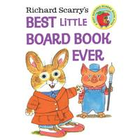 Little Golden Books Richard Scarry's Best Little Board Book Ever from Blain's Farm and Fleet